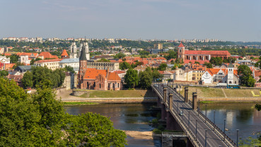 Summer View Of Kaunas - Lithuania