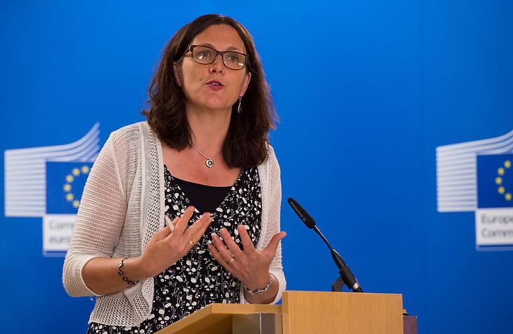 Cecilia Malmstrom (Courtesy of European Commission Audiovisual Services)
