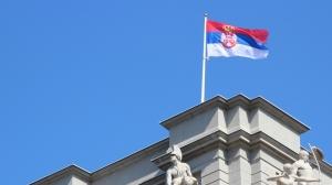 serbia belgrade flag