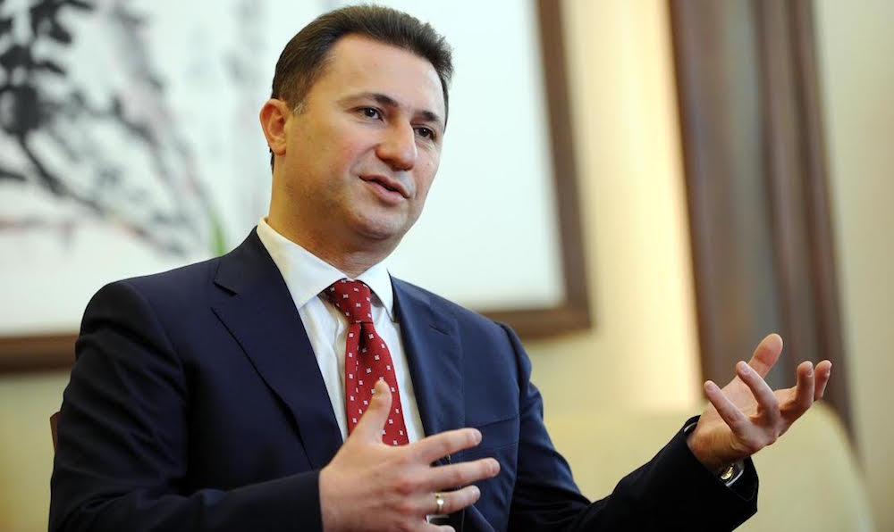 Nikola Gruevski, former Prime Minister of Macedonia and leader of conservative VMRO-DPMNE party, is running in the June elections to make Macedonia move forward