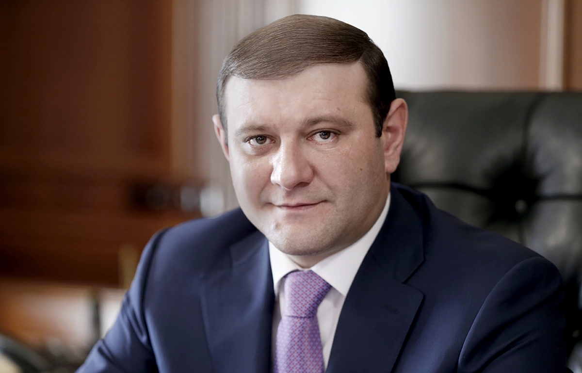 Taron Margaryan, Mayor of Yerevan (courtesy of City Hall)