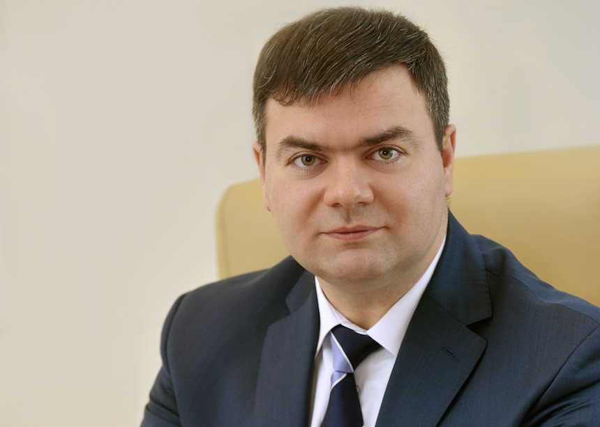 Taras Nadolny, First Deputy Governor of the National Bank of Belarus (photo courtesy of NBRB)