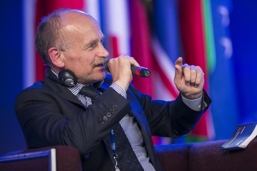 Zygmunt Berdychowski at the 27th Economic Congress in Krynica