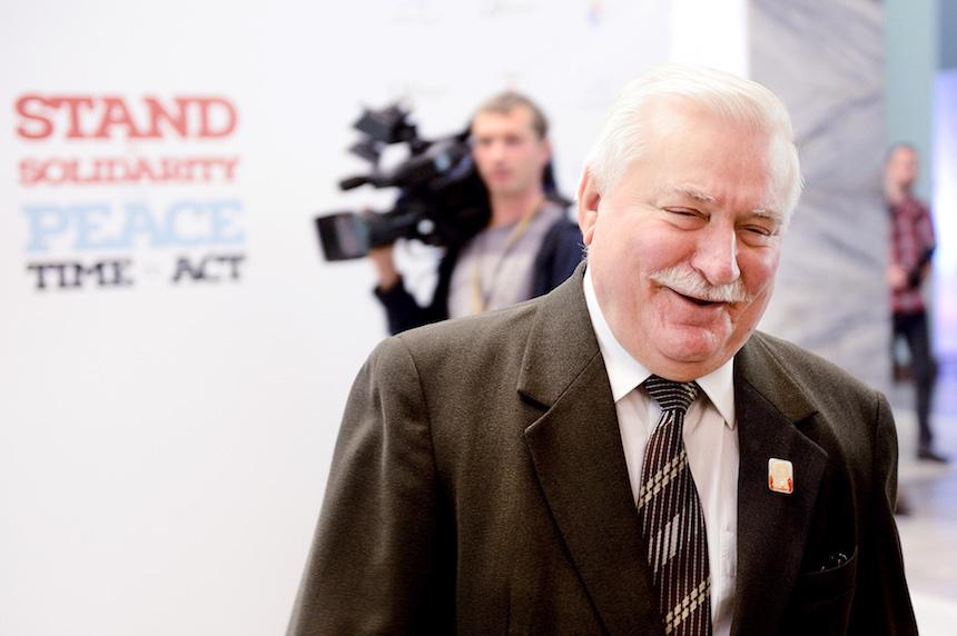 Lech Wałęsa (credit: Piotr Bławicki)