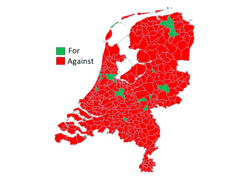 map netherlands