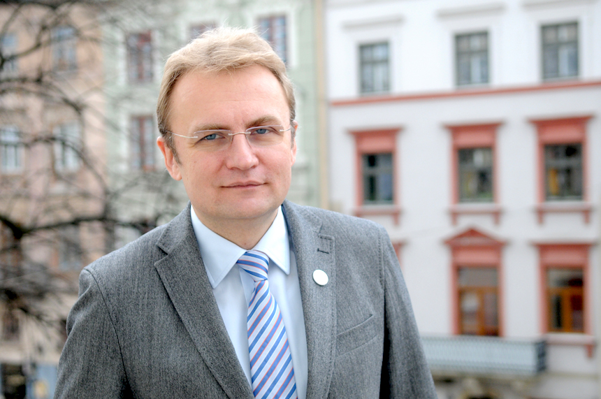 Andriy Sadovyi (courtesy of Lviv City Hall)