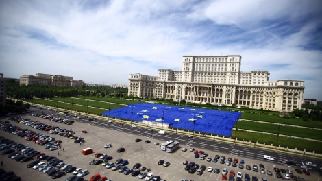 Romanian Palace Of Parliament