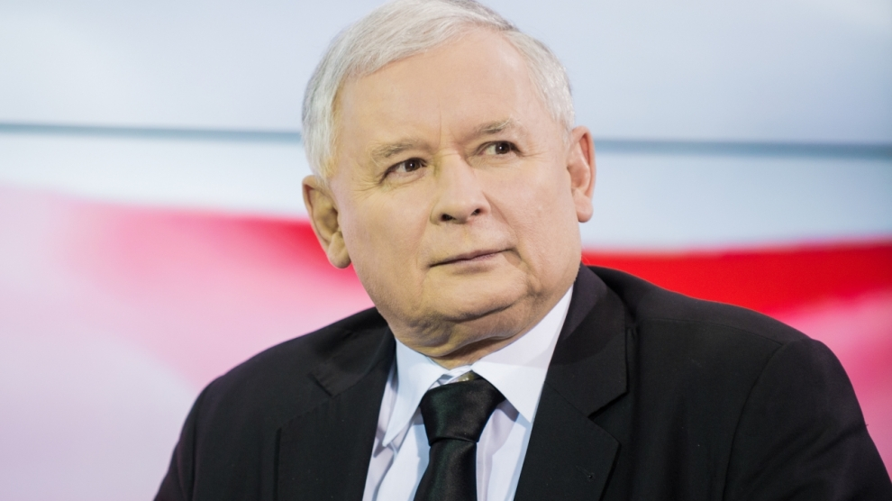 Jaroslaw kaczynski pis emerging europe