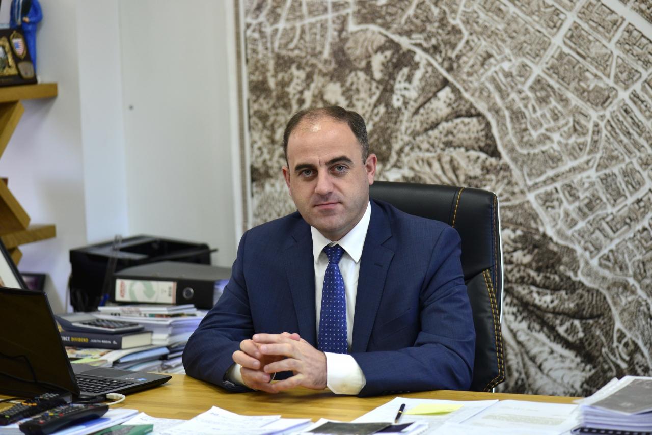 Mayor of Tbilisi, Davit Narmania (courtesy of City Hall)