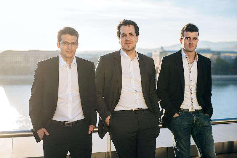 Szilveszter Szebeni, István Lám (CEO) and Gyorgy Szilagyi