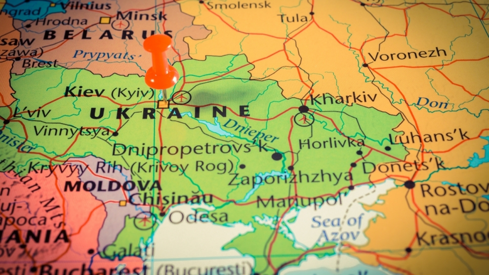 map of ukraine emerging europe