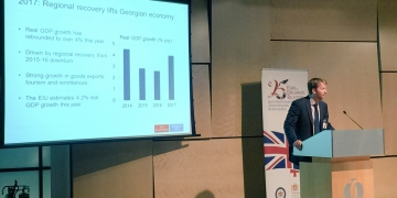 maximilien lambertson at emergeing ebrd outlook on georgia