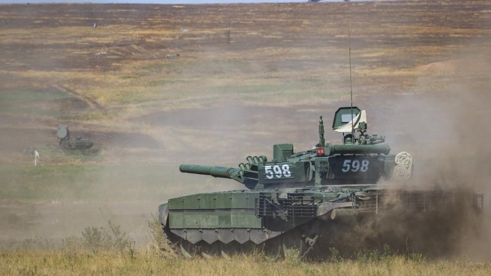 russian tank belarus zapad