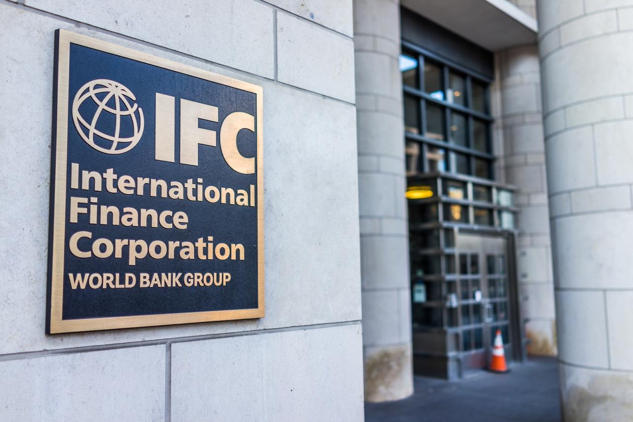 Washington Dc, Usa - March 4, 2017: Ifc Entrance With Sign