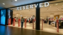 SAINT PETERSBURG, RUSSIA - CIRCA AUGUST, 2017: Reserved store at Galeria shopping center. Reserved is a Polish clothing store chain.