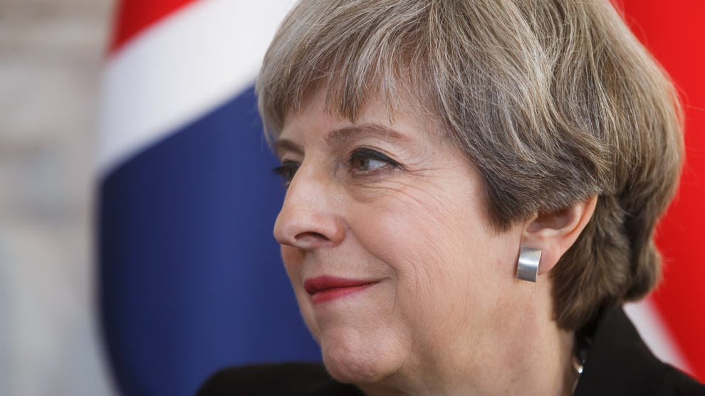 Seize on 'new dynamic' on Brexit deal: May