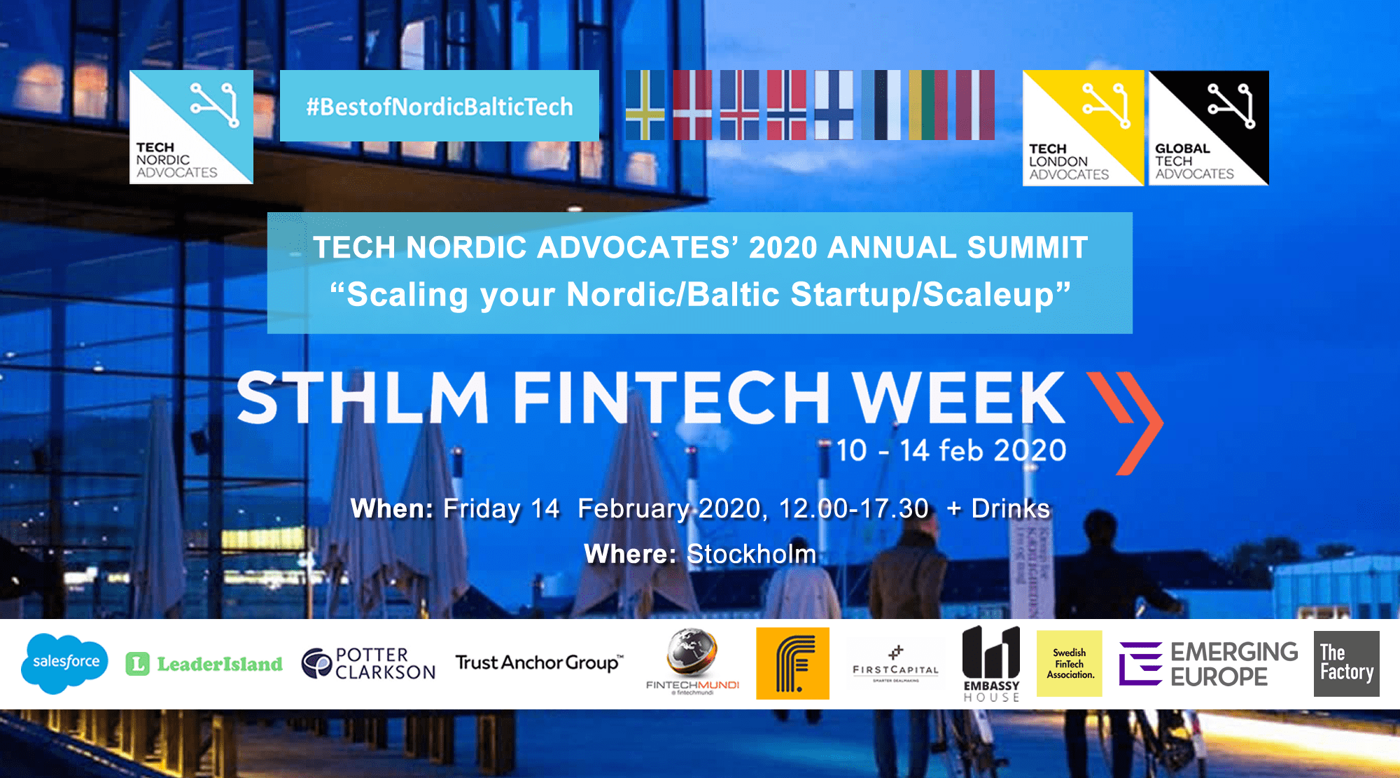 Tech Nordic Advocates Growth Summit