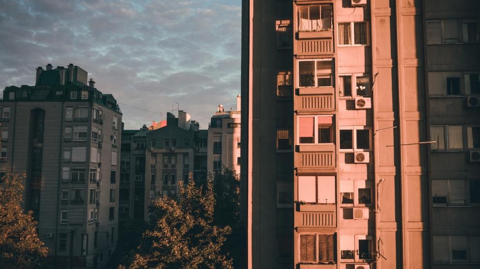 emerging europe belgrade apartment blocks serbia