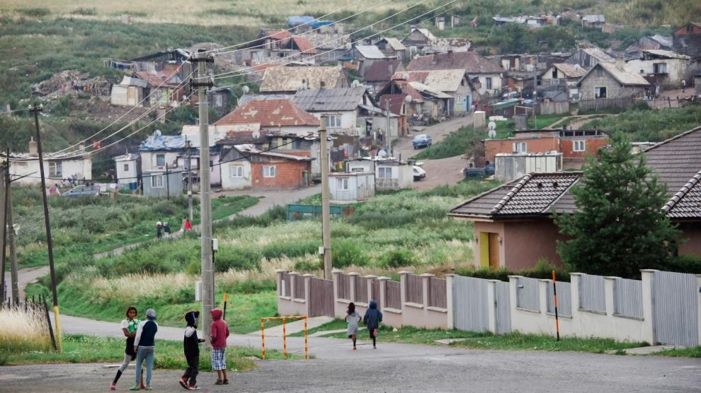 emerging europe roma settlement slovakia