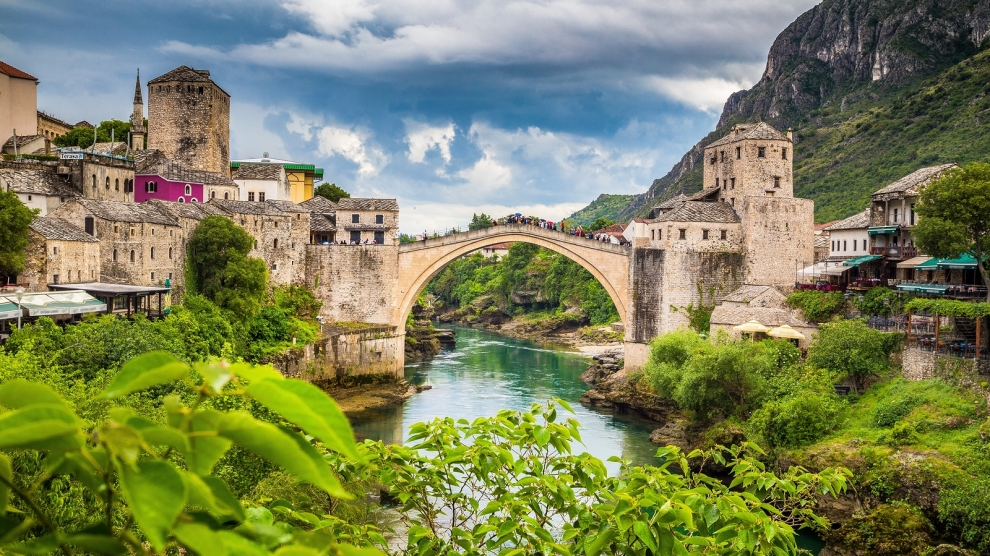 emerging europe mostar bridge bosnia yugoslavia war