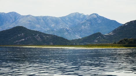 emerging europe Lake Skadar in Montenegro