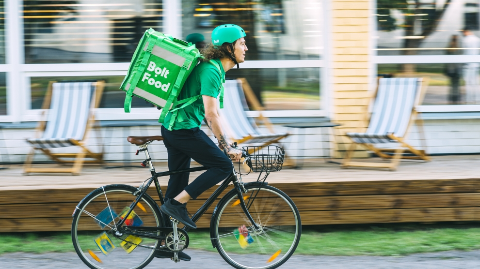 estonia bolt food delivery