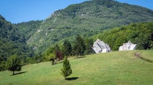 War Memorial in Sutjeska National Park Bosnia and Herzegovina