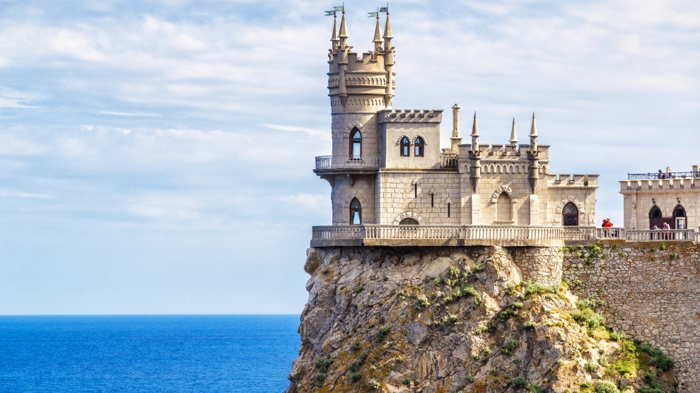 castle crimea ukraine russia
