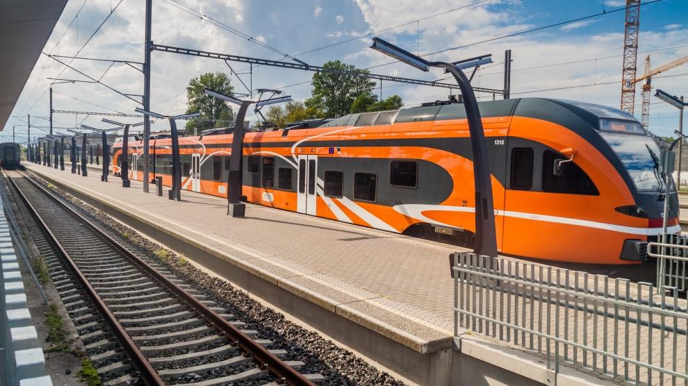estonia train estonia railways