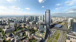 varso tower warsaw poland tallest building in europe