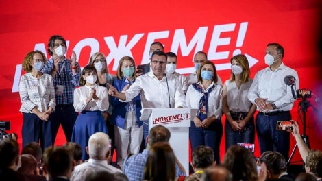 zoran zaev north macedonia