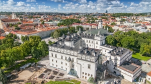 cathedral square vilnius lithuania
