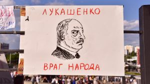 Alexander Lukashenko caricature