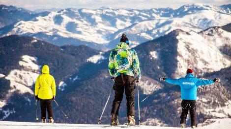 bakuriani ski resort georgia