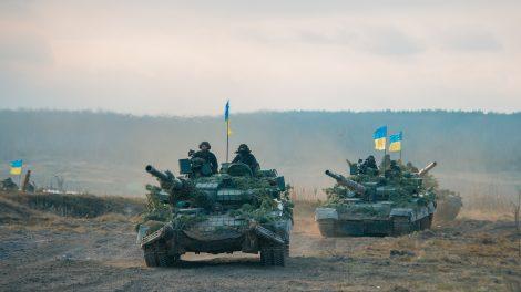 ukraine army tanks