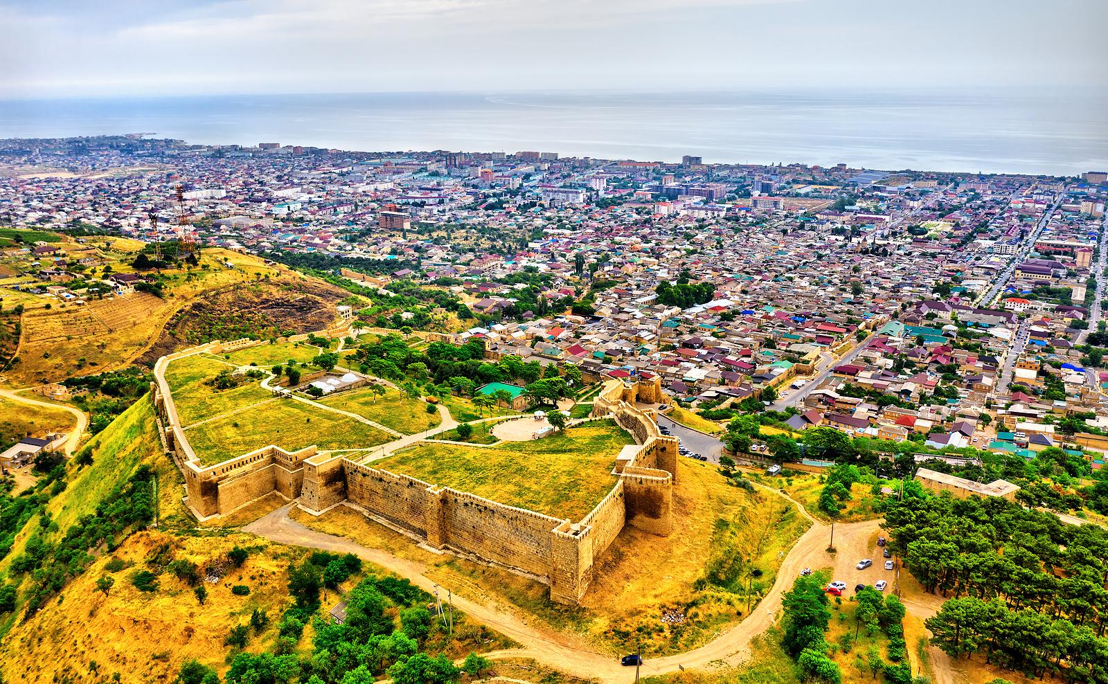 The Naryn-Kala fortress in Derbent