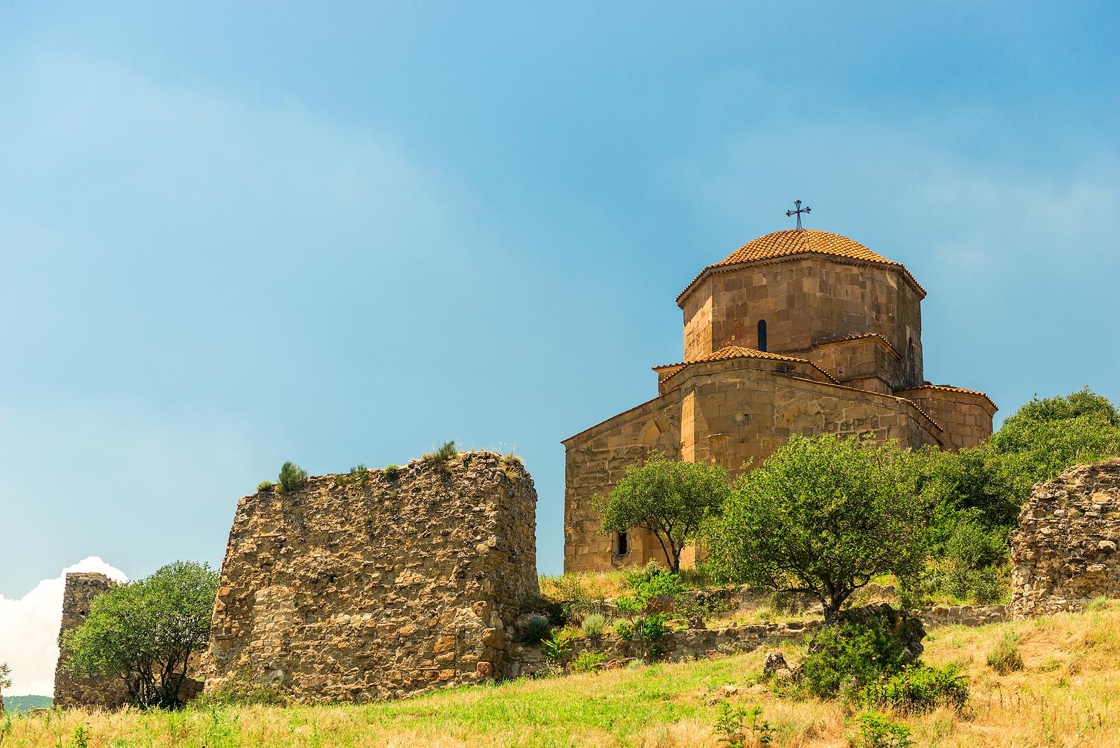 The Jvari monastery