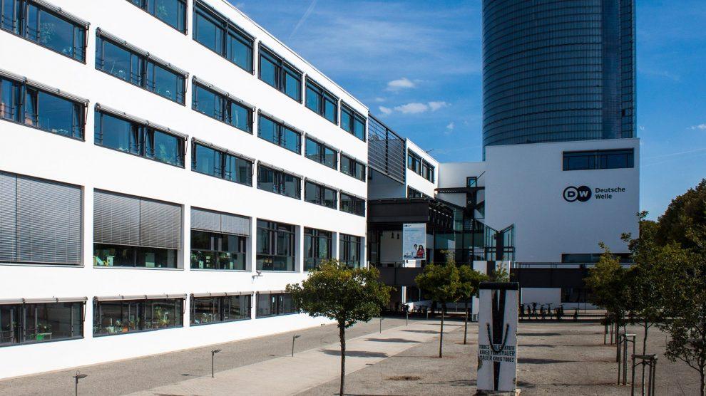 Deutsche Welle's HQ in Bonn, Germany