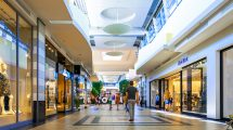 A mall in Katowice, Poland