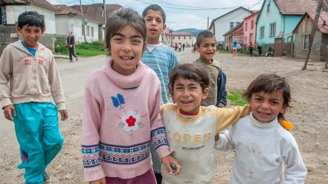 Roma children in Slovakia
