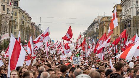 Protests in Minsk, Belarus