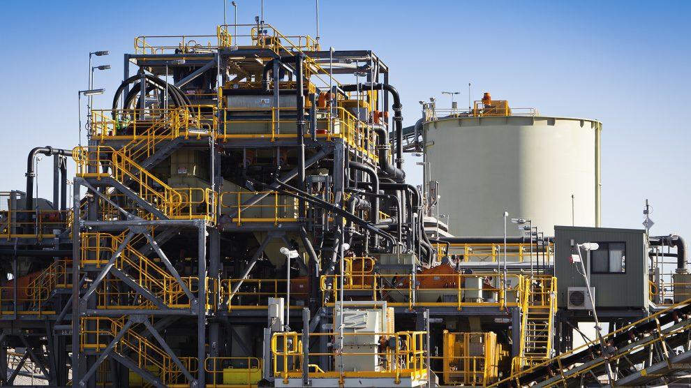 A lithium mine at Ravensthorpe, Western Australia
