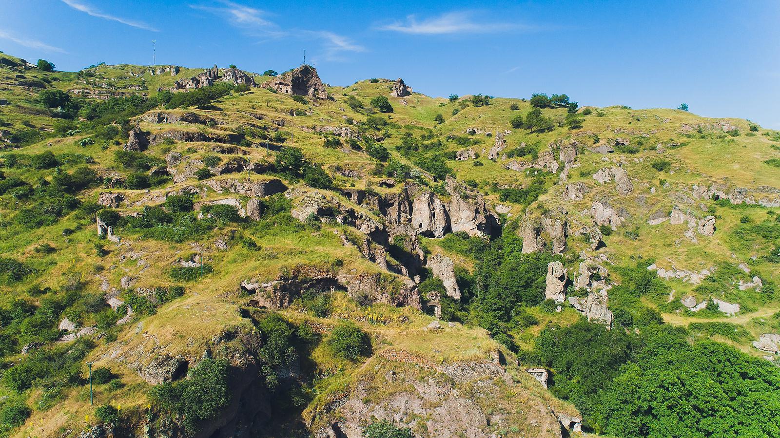 Ancient caves at Khndzoresk