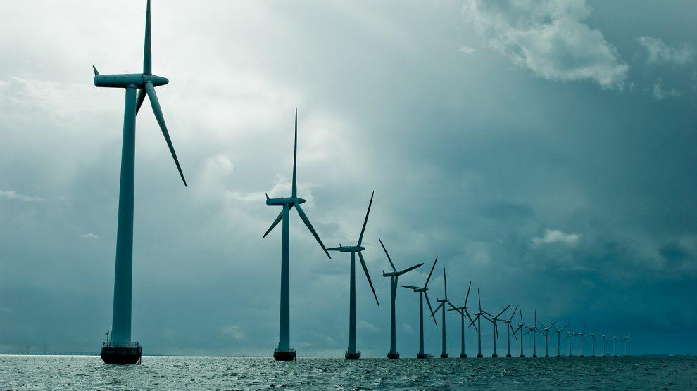 Offshore windfarm in the Baltic Sea