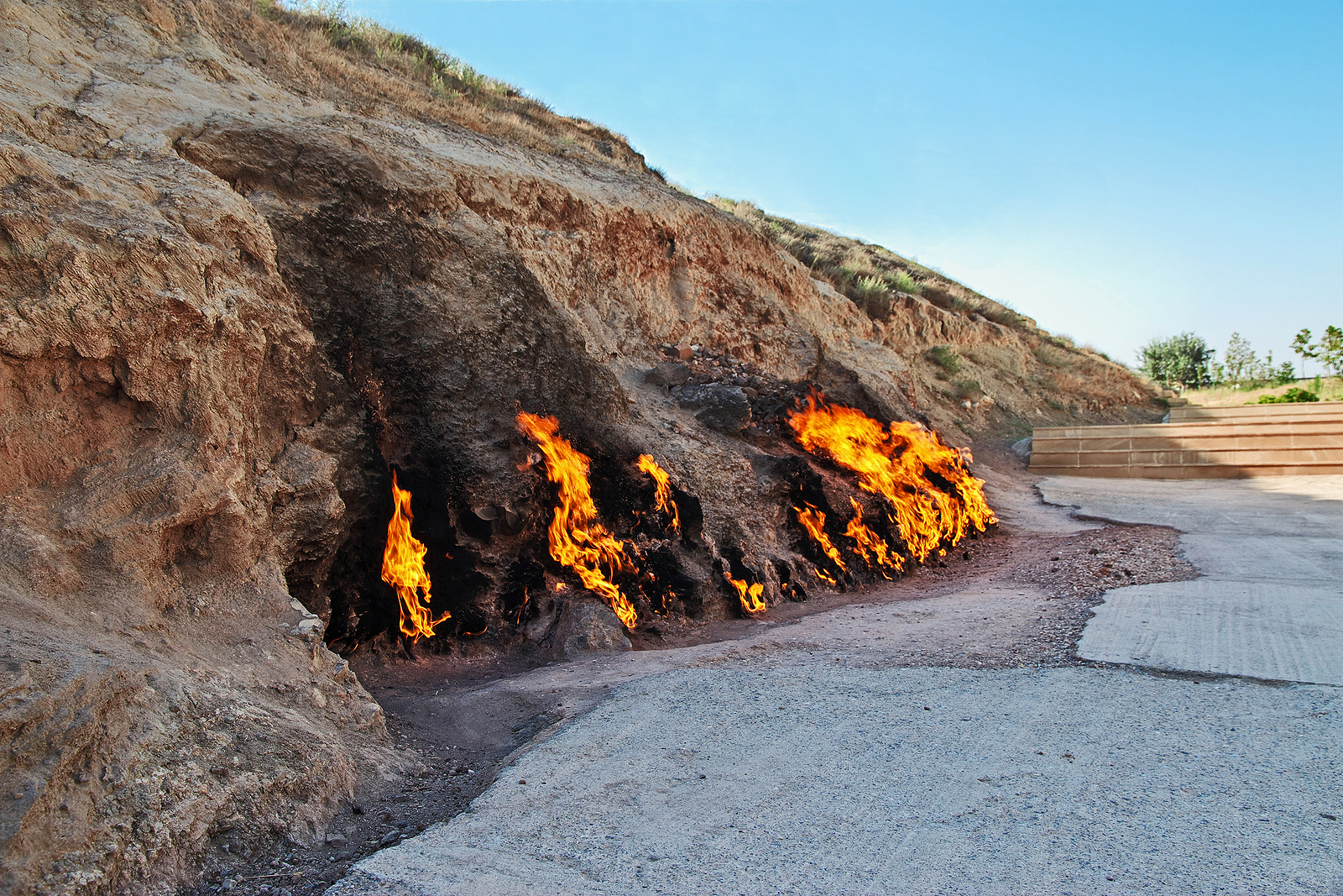 Azerbaijan, quite literally the land of fire