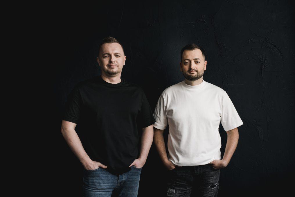 Oleg Krot left) and Yura Lazebnikov
