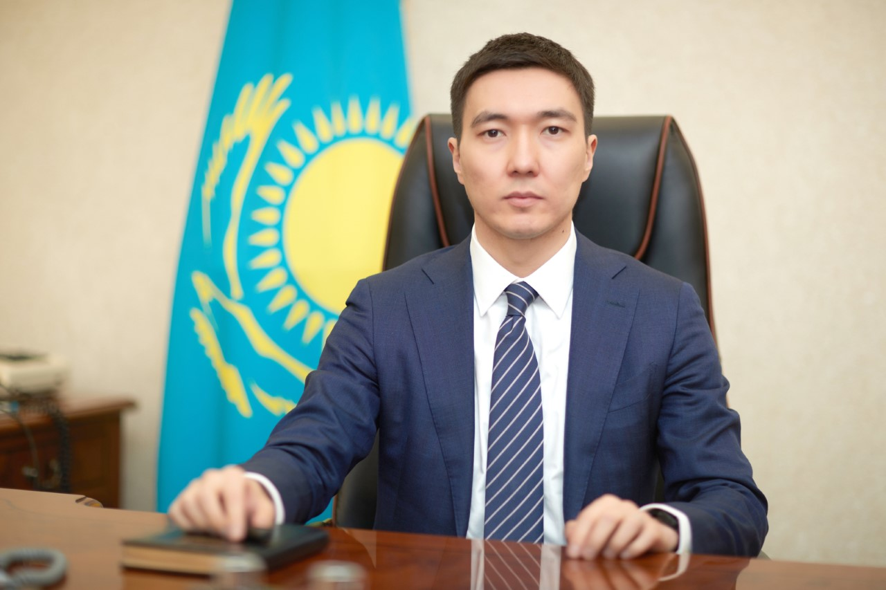 Almat Madaliyev, a vice minister at Kazakhstan's Ministry of Justice