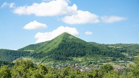 One of the Bosnian 'pyramids', near Visoko