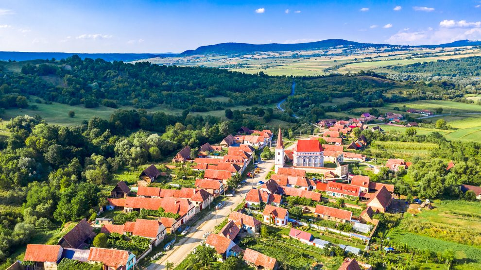 A village in Transylvania, Romania. Perfect for would-be digital nomads