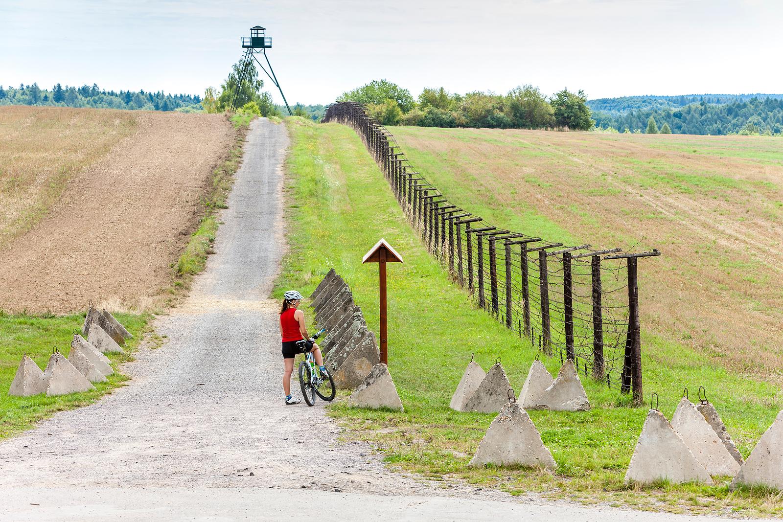 Remains of the Iron Curtain at Čížov, Czechia
